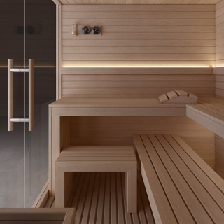 Jacuzzi sauna